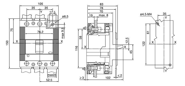 Circuit Breaker Abb Molded Case Circuit Breaker